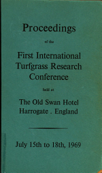 Proceedings of the ... International Turfgrass Research Conference