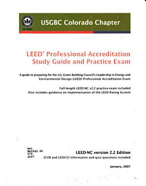 LEED Professional Accreditation Study Guide and Practice Exam PDF