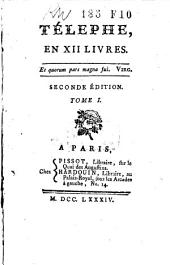 Télephe, en XII livres: Volume1