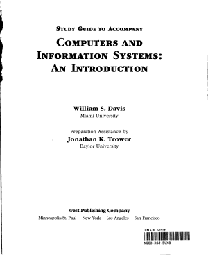 Computer and Information Systems PDF