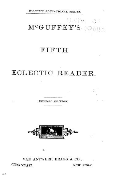 Download McGuffey s Eclectic Reader Book