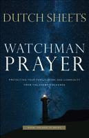 Watchman Prayer PDF