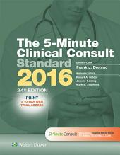 The 5-Minute Clinical Consult Standard 2016: Edition 24