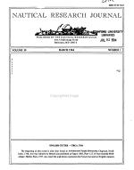 Nautical Research Journal PDF