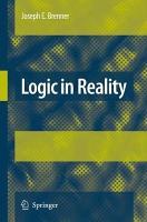 Logic in Reality PDF
