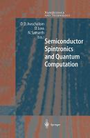 Semiconductor Spintronics and Quantum Computation PDF