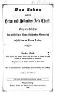 Bd  Vom Beginne des zweiten Jahres nach der Taufe im Jordan bis zum Schlusse der zweiten Osterfeier in Jerusalem  Mitgetheilt vom 1  Oktober 1822 bis 30  April 1823 PDF
