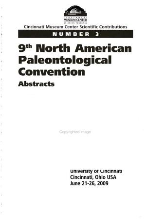 9th North American Paleontological Convention