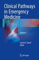 Clinical Pathways in Emergency Medicine PDF