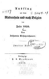 Ausflug an den Niederrhein und nach Belgien in Jahr 1828