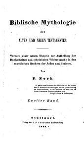 Biblische Mythologie des alten und neuen Testamentes: Band 2