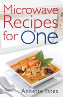 Microwave Recipes For One PDF