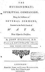 The Husbandman's Spiritual Companion