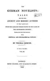 P. Eberhardt: [4] J. G. G. Busching: [5] I. L. K. and W. K. Grimm; [6] Lothar u. c. O. C. von Graevem. (The arch rogue, Castle Christburg); [7] F. H. K. freiherr de La Motte-Foueué. (the field