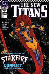 The New Titans (1984-1996) Annual #6