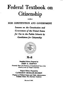 Our Constitution and Government PDF