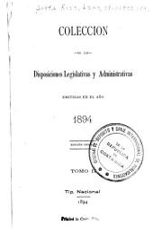Colección de leyes, decretos, acuerdos y resoluciones: Volumen 2