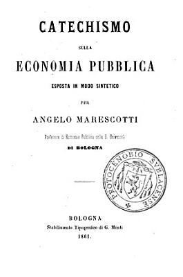 Catechismo sulla economia pubblica PDF