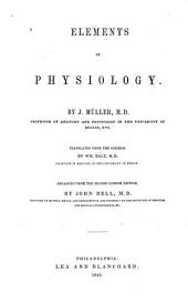 Elements of Physiology: Volume 2