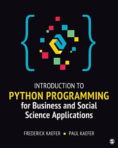 Introduction to Python Programming for Business and Social Science Applications PDF