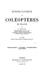 Histoire naturelle des coléoptères de France: Volume22