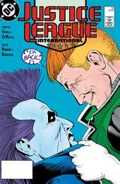 Justice League International (1987-) #19