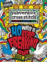 Subversive Cross Stitch Coloring and Activity Book PDF