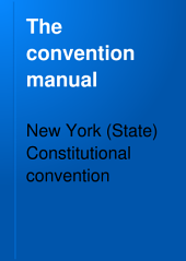 The Convention Manual: Volume 2, Part 2
