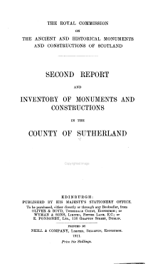An Inventory of the Ancient and Historical Monuments with the Report of the Commission PDF