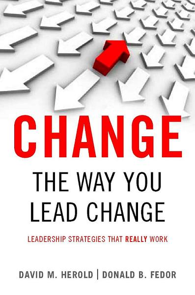 Change The Way You Lead Change