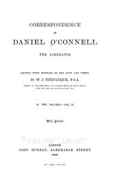 Correspondence of Daniel O'Connell, the Liberator: Volume 2