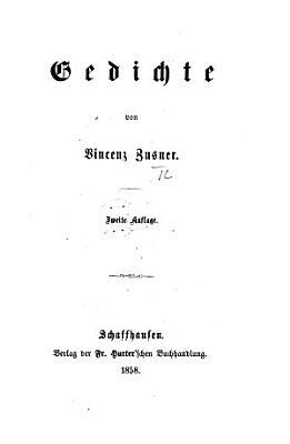 Gedichte     Zweite Auflage PDF