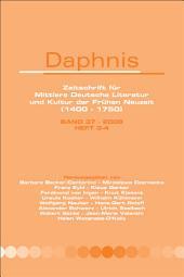 Daphnis: Ausgaben 3-4
