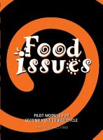 Food Issues  pilot module for 2nd year Junior Certificate Home Economics PDF