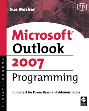 Microsoft Outlook 2007 Programming PDF