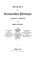 Geschichte der germanischen Philologie PDF