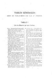 Mémoires de la Société des sciences physiques et naturelles de Bordeaux