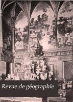 Revue de g  ographie PDF