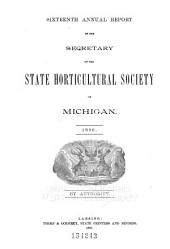 Report of the Michigan State Pomological Society: Volume 16