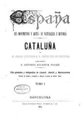 Cataluña: Volumen 1