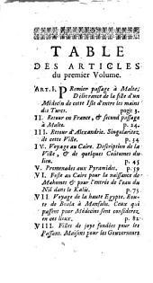 Voyage du Sieur Paul Lucas au Levant: Volume1