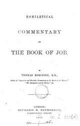 Homiletical Commentary on the Book of Job PDF