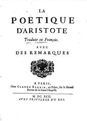 La poetique d'Aristote