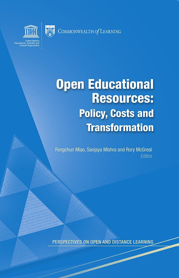 Open educational resources: policy, costs, transformation