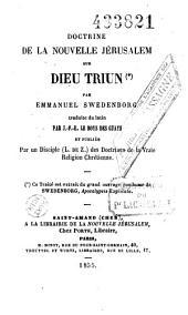Doctrine de la Nouvelle Jérusalem sur Dieu Trium