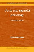 Fruit and Vegetable Processing PDF