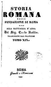 Storia romana dalla fondazione di Roma sino alla battaglia d'Azio, 19-21