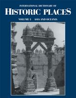 International Dictionary of Historic Places  Asia and Oceania PDF