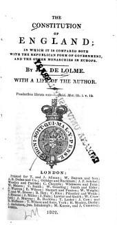 Constitution de l'Angleterre