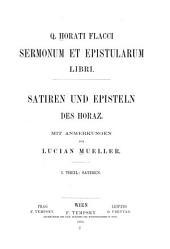 Sermonum et Epistularum libri: Satiren.-v. 2. Episteln